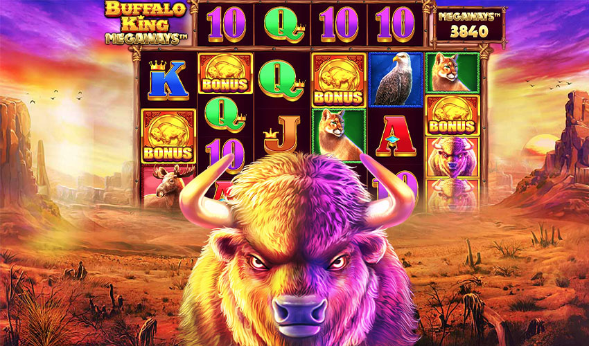 Pragmatic Play, 새로운 클래식 슬롯 게임 출시 에 온라인 카지노사이트 -  Buffalo King Megaways