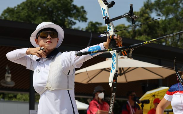 한국 女양궁, 시작부터 올림픽기록 세우며 예선 1~3위