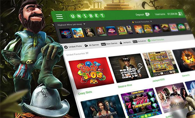 Unibet 카지노사이트 의 게임 소프트웨어